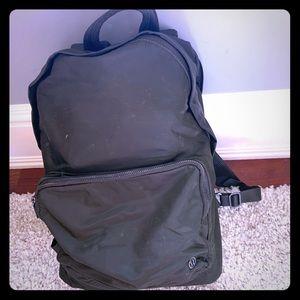 Handbags - Women's lululemon olive green backpack